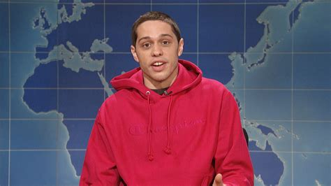 watch weekend update pete davidson on being sober from
