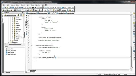 Tutorial Codeigniter Mysql | codeigniter tutorials introduction to codeigniter mysql