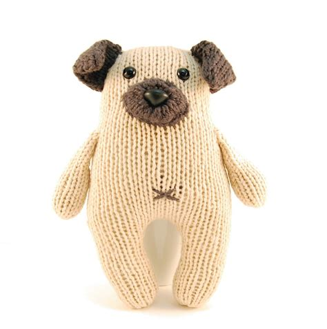 pug knitting pattern wasabi the gregarious pug knitting pattern pdf instant
