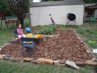 wood chip backyard 57 best wood chip images on pinterest backyard ideas