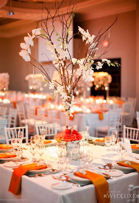 do it yourself wedding centerpieces with branches chic wedding centerpieces archives weddings romantique
