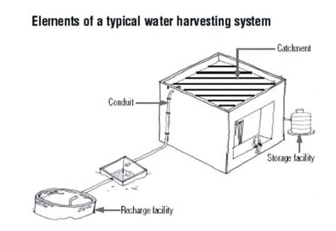 layout plan for rainwater harvesting how rain water harvesting is done