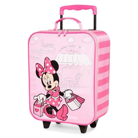 Bag Import Ready White G40 minnie mouse luggage for mc luggage