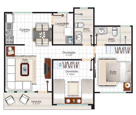 plantas de casas plantas de casas 2 quartos 1 su 237 te