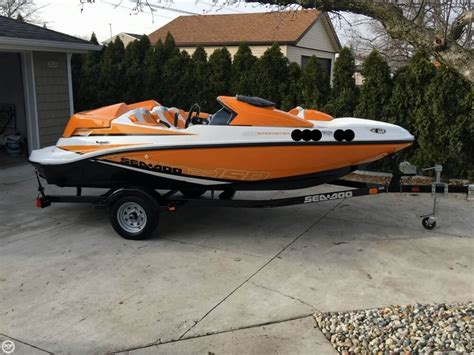 used sea doo boats for sale in michigan 2012 used sea doo 150 speedster jet boat for sale