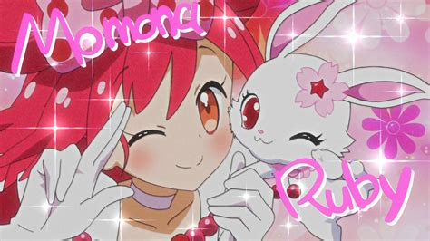 momona and ruby from transform scene jewelpet