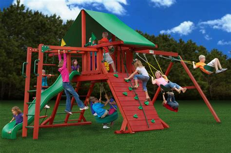 backyard kids playsets cheap outdoor swing sets picnic chairs target images