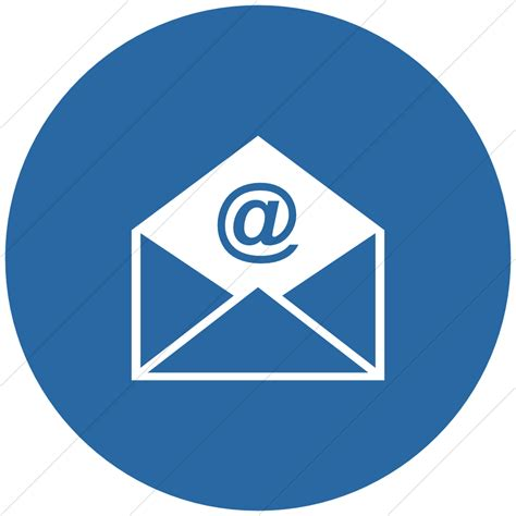 email layout icon email circle