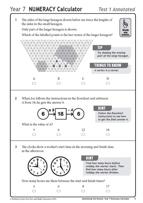 quiz questions year 7 sle maths test for year 7 end of term test by mrvaksy