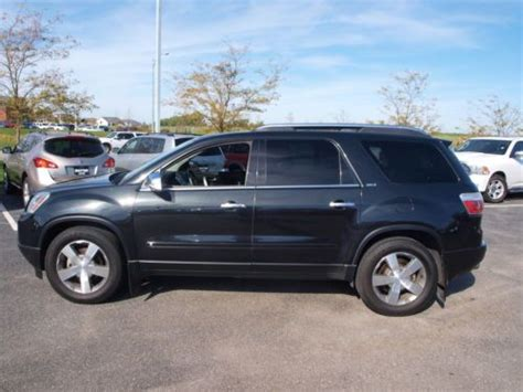 2009 gmc acadia slt awd navi leather dual moonroof canadian mississauga ontario used car for sale buy used 2009 gmc acadia slt 1 leather dual roofs dvd 4x4 in elkhorn nebraska united