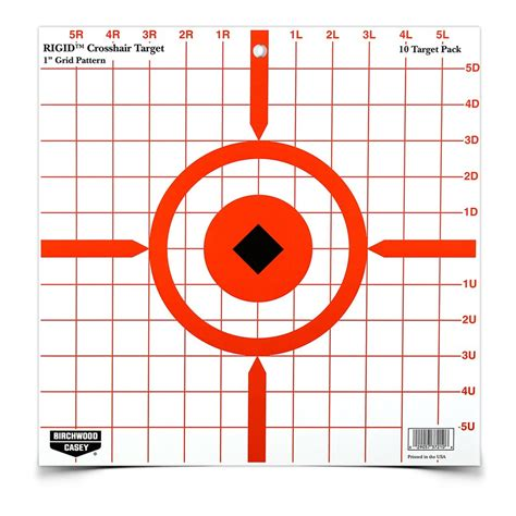 printable rifle sight in targets rigid 12 crosshair sight in target tac line guns