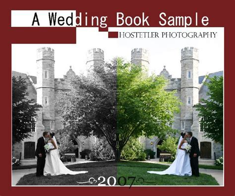 A Wedding Book Sample by J. Andrew Hostetler   Blurb Books