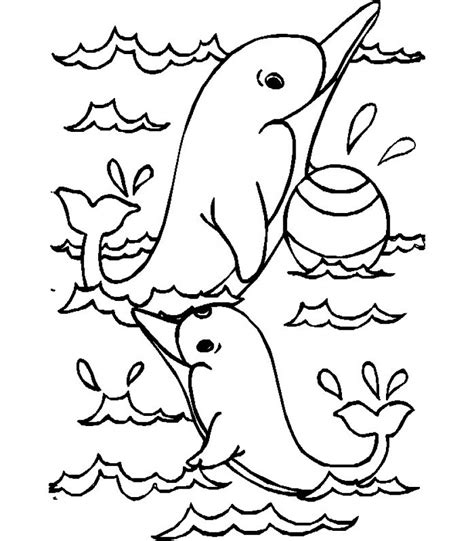 coloring pages underwater animals get this sea animals dolphin coloring pages 28193