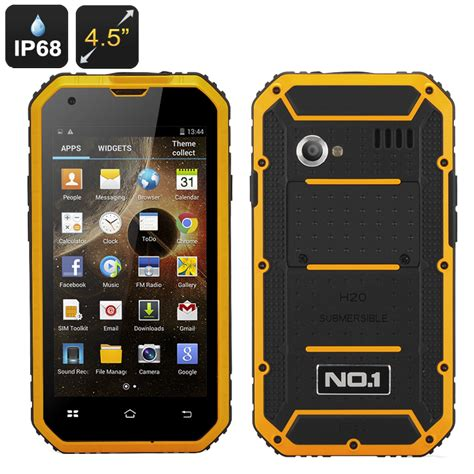 android 4 4 sdcard no 1 m2 rugged smartphone ip68 4 5 inch screen cpu 1gb ram dual sim android 4 4