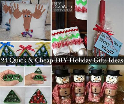 24 quick and cheap diy christmas gifts ideas amazing diy