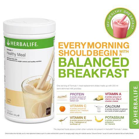 Shake Vanila Milk Shake Shake Mix Herballife Shake Herballife herbalife formula 1 healthy meal nutritional shake mix