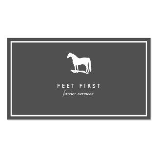 farrier business card templates farrier business cards templates zazzle