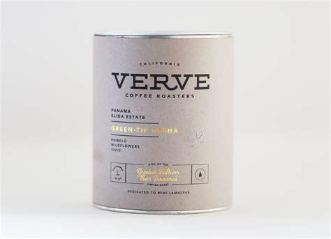 Verve Coffee's Panama Green Tip Gesha