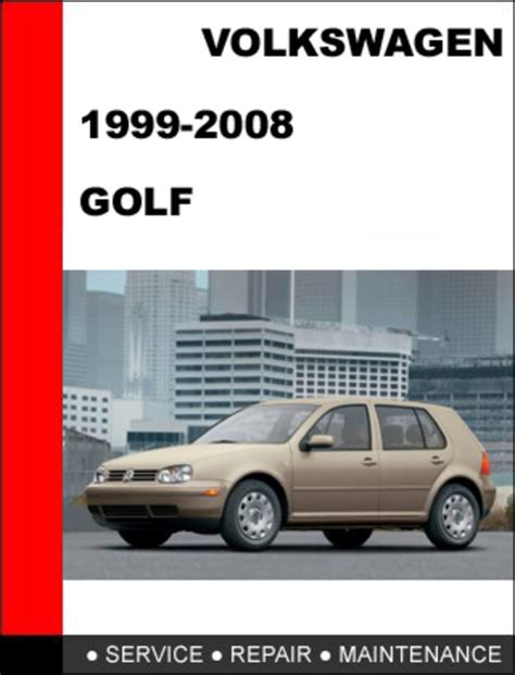 service repair manual free download 2001 volkswagen rio navigation system vw golf 1999 2008 workshop factory service repair manual download