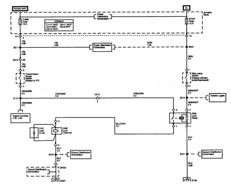 Chevy Tracker Brake System Diagram 2003 Chevy Tracker Turn Signal Brake And Shifting Blown