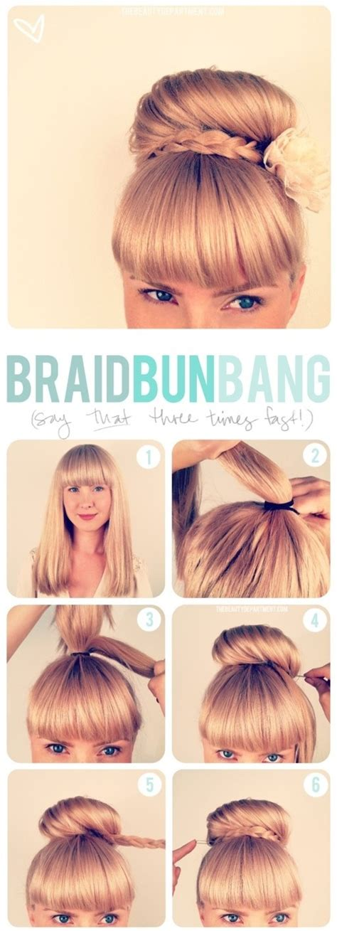 how to do a bun with a braid around it hair tutorials 20 ways to style your hair in summer