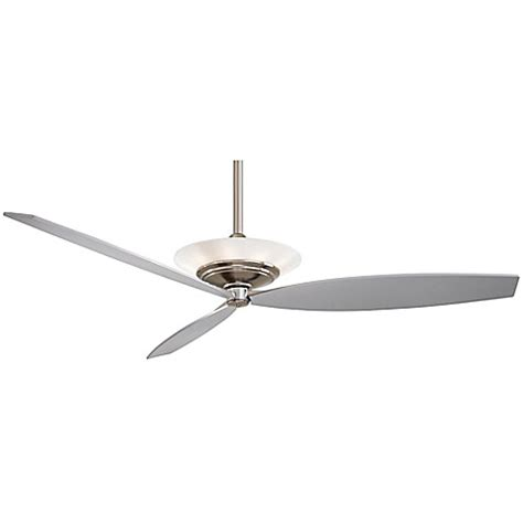 60 inch brushed nickel ceiling fan buy minka aire 174 moda 60 inch ceiling fan in brushed nickel