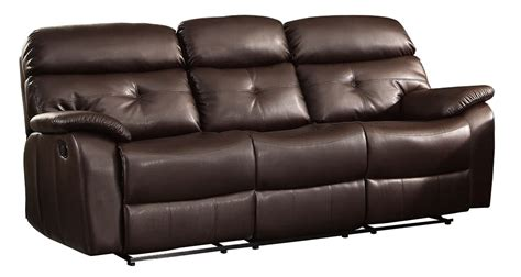 double reclining leather sofa the best reclining sofas ratings reviews bernhardt weston