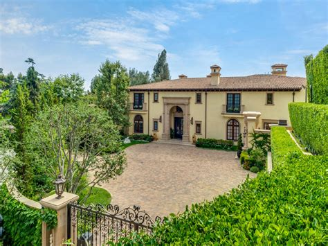 beverly estate resembling italian villa listed for sale
