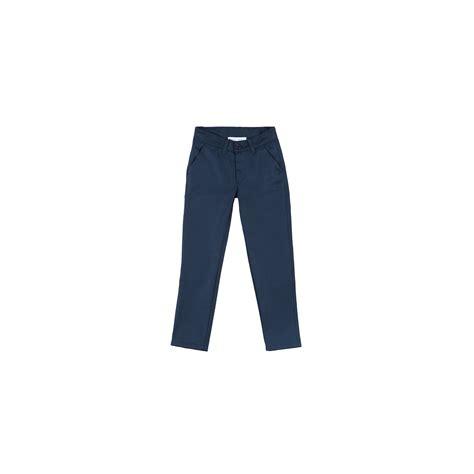 Bleu Marine Gris by Pantalon Fille Bleu Marine Ou Gris Blanc Et Marine