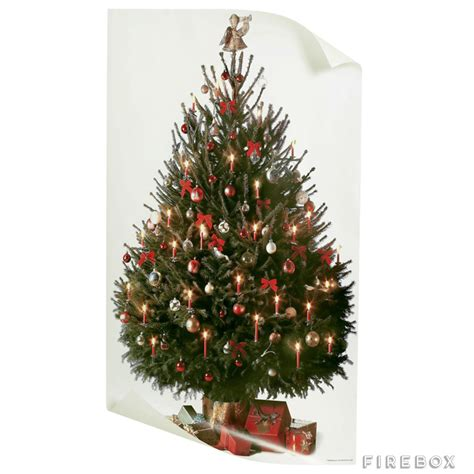 christmas tree poster firebox shop for the unusual