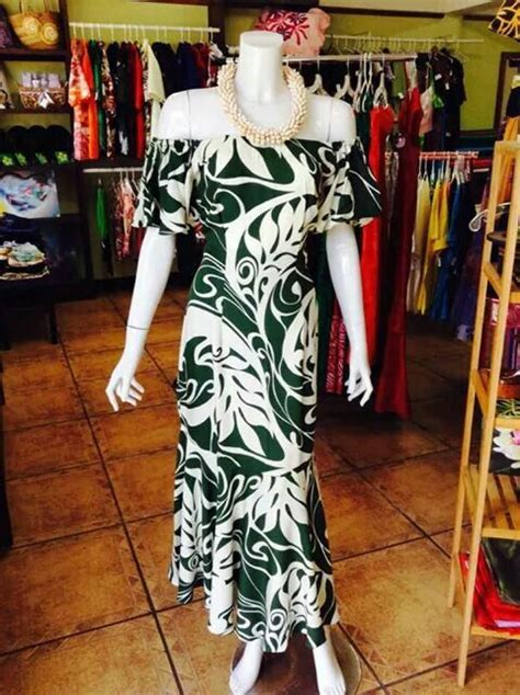 locally  polynesian dress hawaiian outfit island