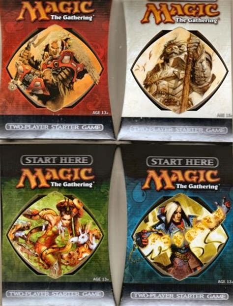 magic starter decks magic the gathering 10th edition 2 player starter deck
