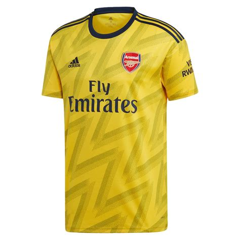 adidas arsenal  jersey yellow soccer unlimited usa