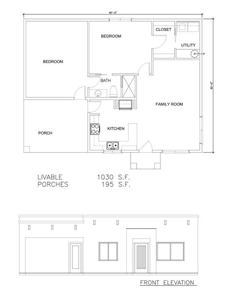 Houses Floor Plans Pictures Guest Houses 1030 Sf Welcome To Plans By Dean Drosos