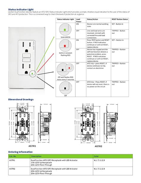 afci receptacle wiring diagram wiring diagram