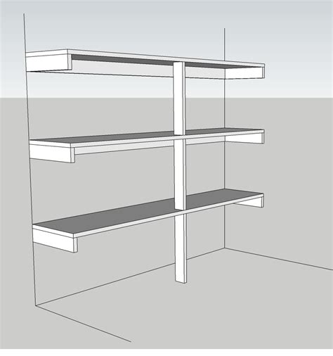 Shelf Bracing kitchens do i need bracing for 12 quot x55 quot shelves home improvement stack exchange