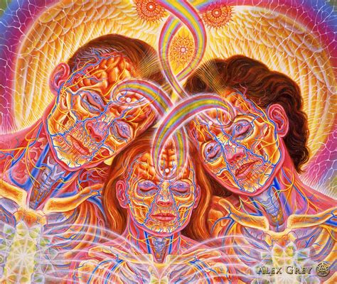 painting greys quot family quot by alex grey 1996 oil on linen 25 x 30 in