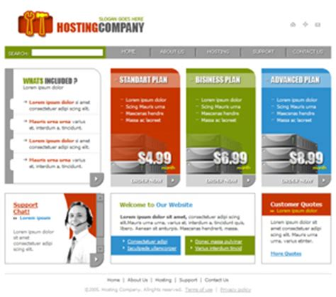 free web hosting template free website templates free web templates free web
