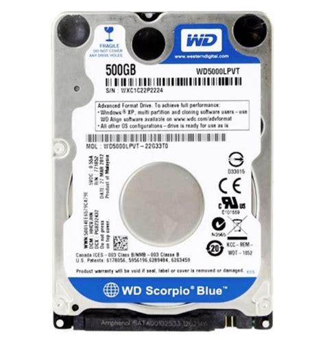 Harddisk Termurah harddisk 2 5 western digital wd blue 500gb sata3 5400 rpm tans computer jakarta toko