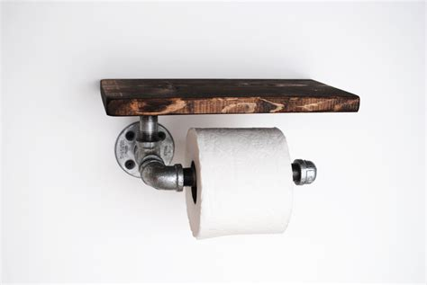 toilet paper shelf industrial toilet paper holder with shelf galvanized pipe