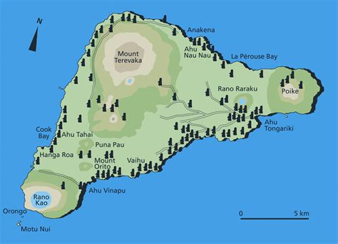 easter island map easter island ancient worlds