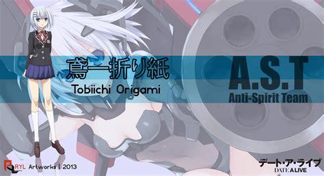 Origami Date A Live - tobiichi origami date a live by kyuzomukatsu on deviantart