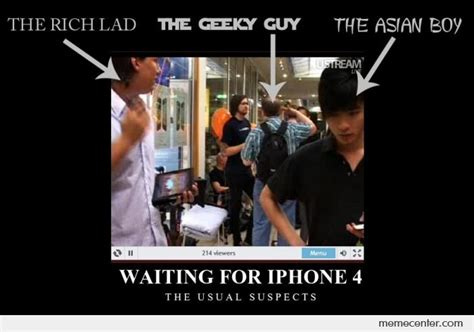 Waiting By The Phone Meme - waiting for iphone 4 by ben meme center