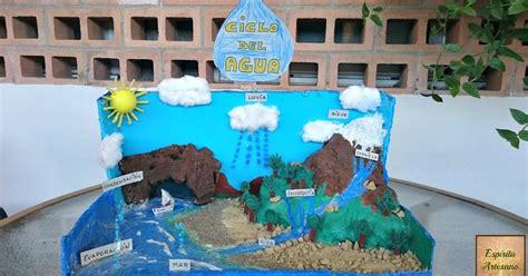 maqueta sobre el agua para alumno de 3 grado esp 237 ritu artesano maqueta quot el ciclo del agua