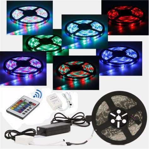5050 led light strips 5m 72w 5050 3528 smd cuttable led lights car rv decoration ebay