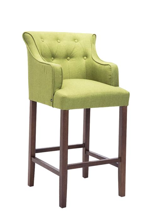 Armchair Bar Stools by Bar Stool Lykso Tweed Fabric Breakfast Kitchen Barstools