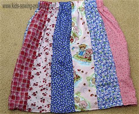 How To Make A Patchwork Skirt - patchwork skirt