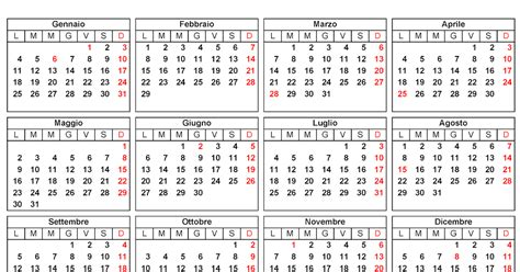 Calendario Giorni Festivi 2011 Italia Calendario Calendario 2016