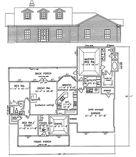 Homes Up To 1700 Sqft 1700 To 1900 Square Foot House Plans