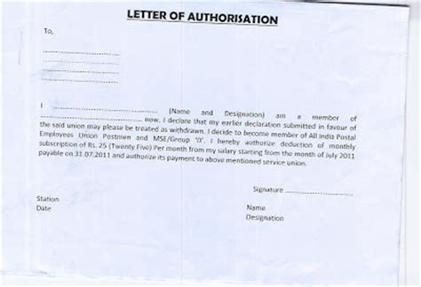 consent letter format in malayalam authorisation letter new calendar template site